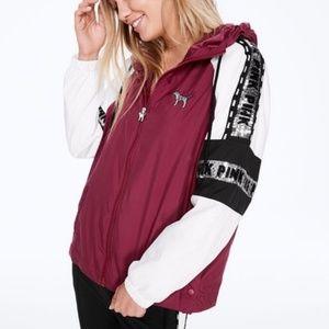 NIP VS Pink Blink Anorak Full Zip Jacket M/L